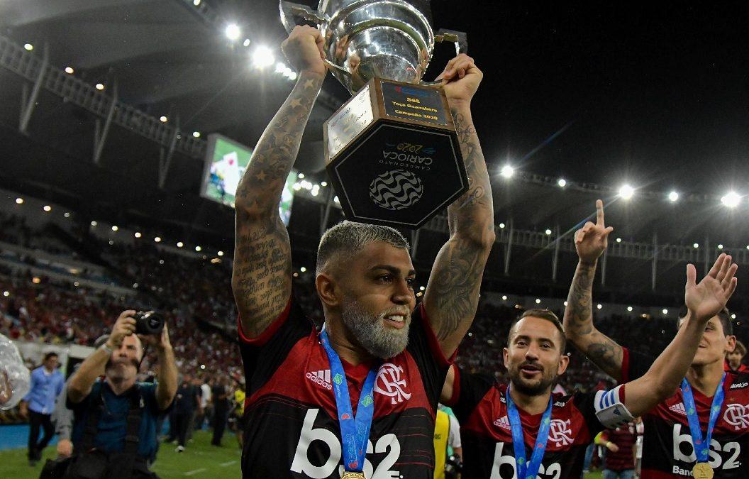 Com gol de Gabigol, Flamengo é campeão da Taça Guanabara