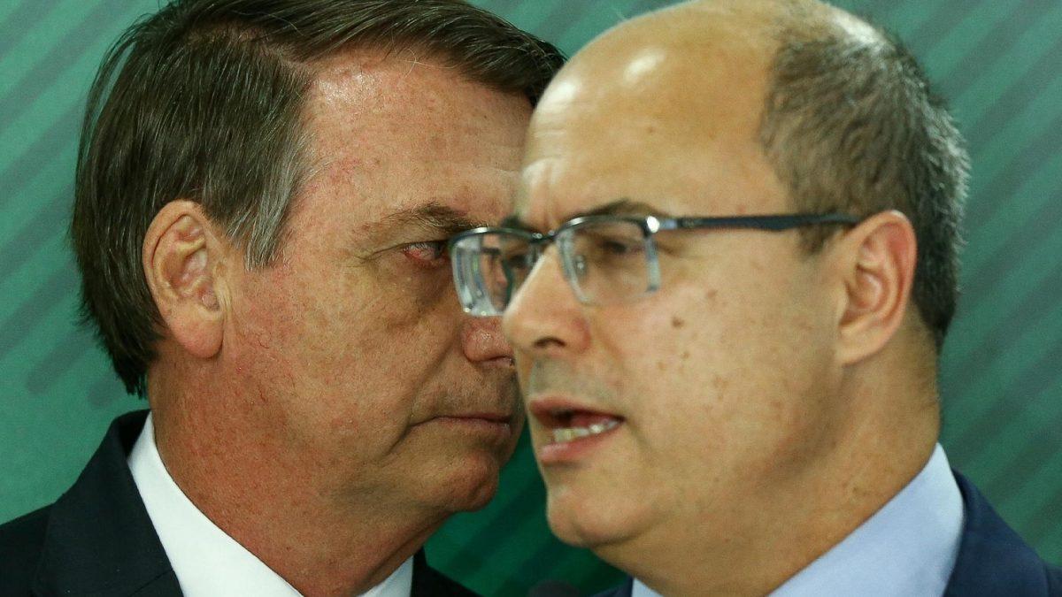 """""""Resposta jurídica para isso é o impeachment"""", aponta Witzel ao criticar atitude de Bolsonaro"""