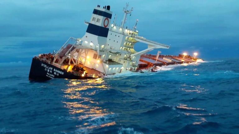 Marinha diz que não há risco imediato de naufrágio do Stella Banner