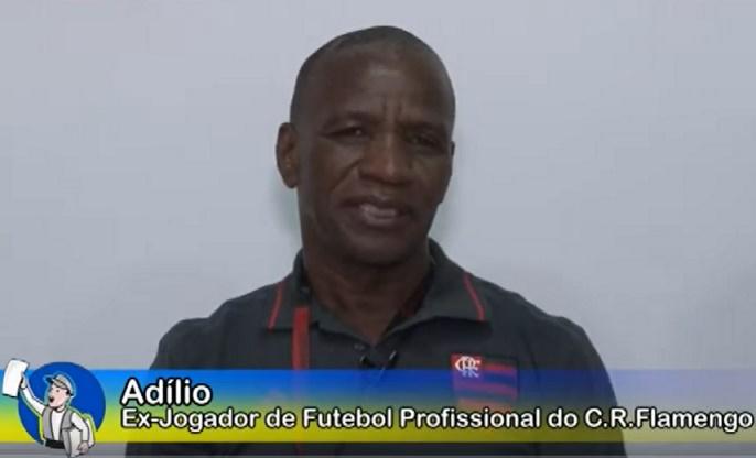 Adílio relembra as glórias do Flamengo de 81 e aplaude o atual; Assista à entrevista