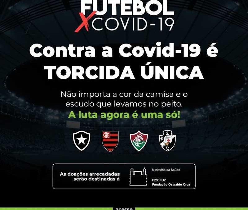 Clubes cariocas se unem para arrecadar recursos em prol da Fiocruz