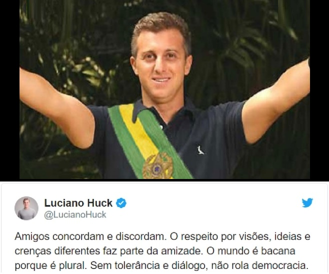 OPINIÃO – Luciano Huck, um cara bacana e plural