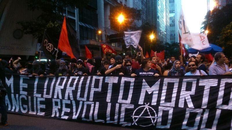 ARQUIVO – Manifestação no Rio pediu 'Tarifa Zero' no transporte coletivo