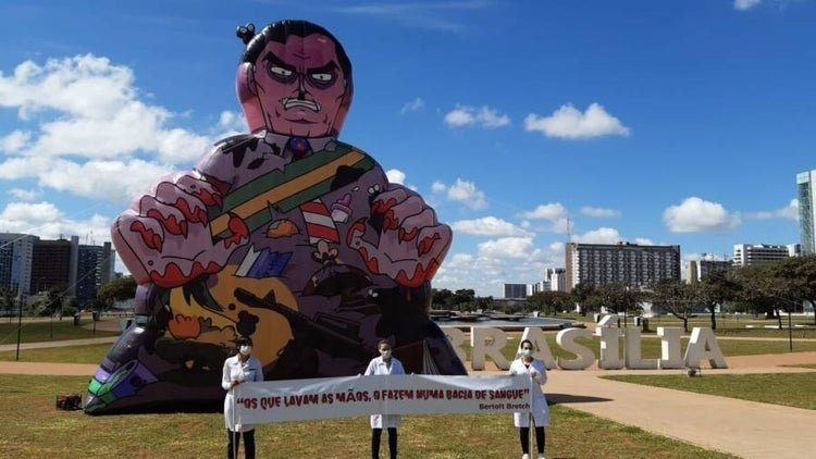 Atos no Dia da Enfermagem criticam Bolsonaro por postura diante da pandemia