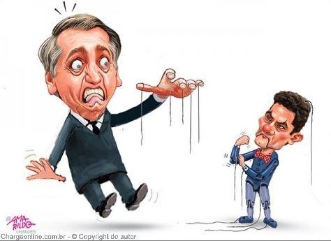 Moro diz que Bolsonaro o repreendeu por não apoiá-lo em ato pró-golpe