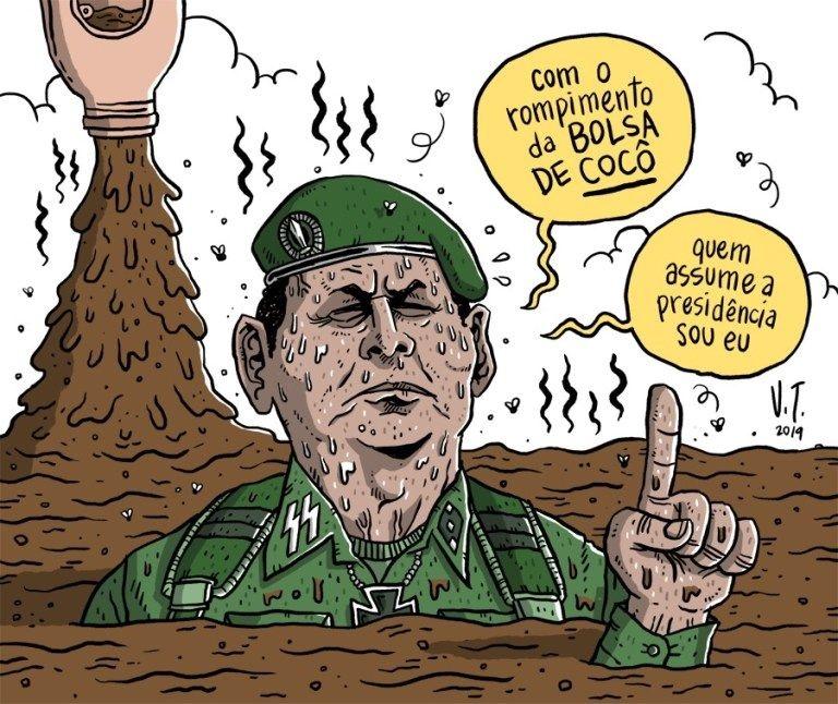 OPINIÃO – O general Mourão e a ameaça de escalada ditatorial