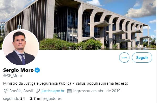 """Moro responde Bolsonaro: """"Há lealdades maiores do que as pessoas"""""""