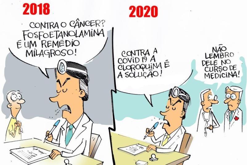 """Bolsonaristas se automedicam com hidroxicloroquina, azitromicina e antipulgas: """"É uma corrente do bem"""""""