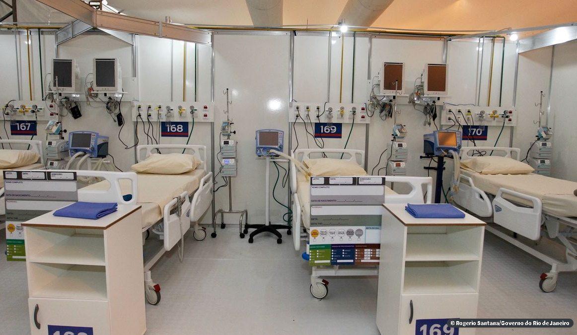 Inauguração dos hospitais de campanha do Rio de Janeiro é adiada