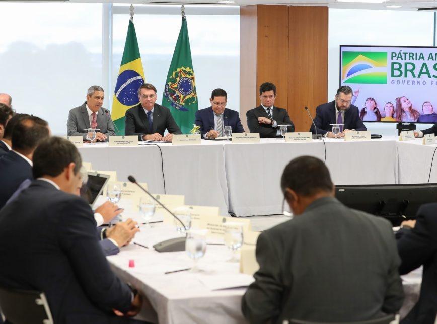 A íntegra da transcrição da reunião ministerial de 22 de abril