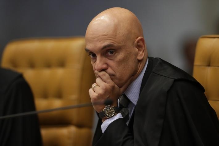Liberdade de expressão não protege bandidagem, diz Moraes na ação das fake news