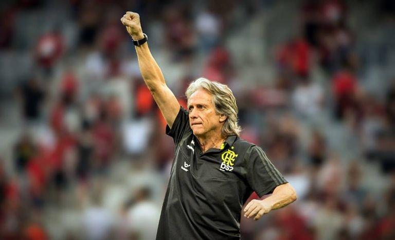 Jorge Jesus completa um ano de Flamengo com idolatria, frases marcantes e mais títulos que derrotas