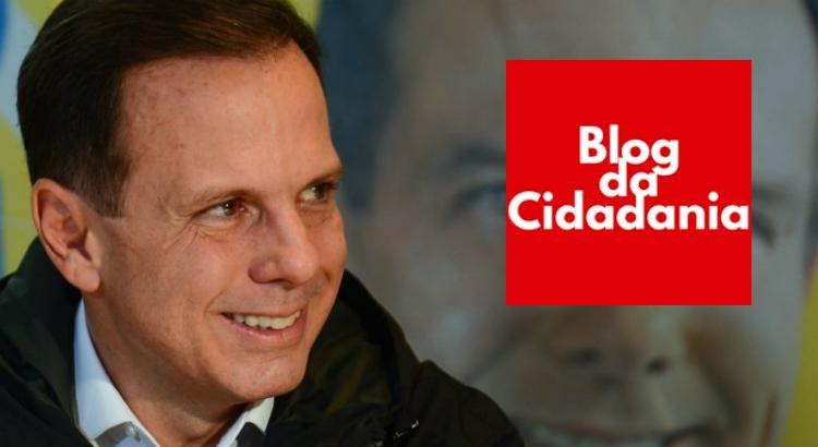 Jornalista responsável pelo Blog da Cidadania é condenado a pagar 20 mil reais a Doria