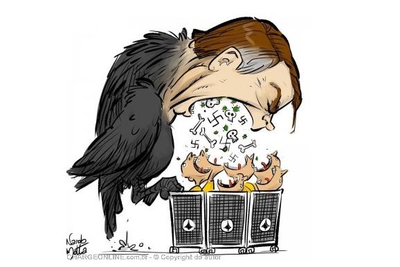 """OPINIÃO – Bolsonaro recorre ao absurdo e chama de """"terrorista"""" quem é contra seu governo"""
