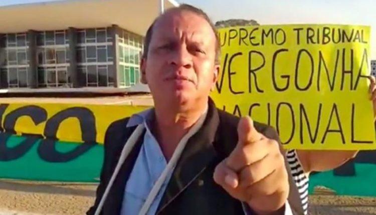 Homem que agrediu enfermeiras é preso por atirar fogos no STF e bolsonaristas tentam invadir delegacia