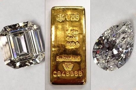 Leilão de diamantes e barras de ouro que pertenciam a Sérgio Cabral arrecada R$ 4,6 milhões