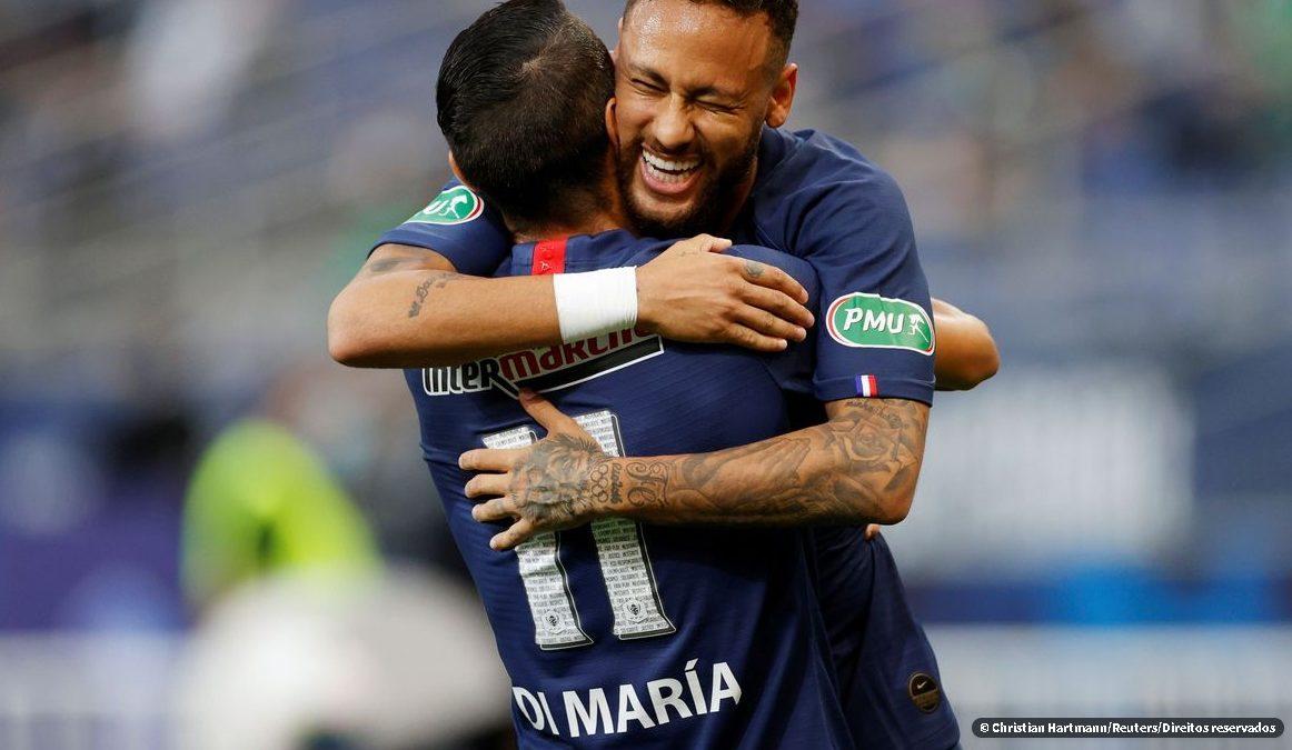 Neymar brilha e PSG conquista Copa da França