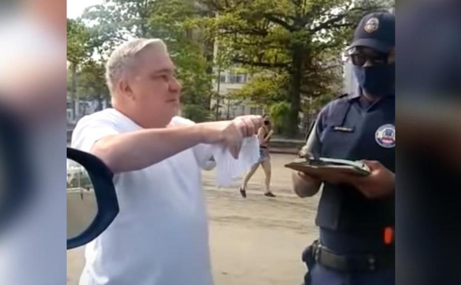 """CNJ abre reclamação disciplinar contra """"desembargador carteirada"""" que xingou guarda municipal"""