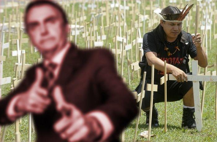 AdvogadoAndré Barros enviou ao STF notícia-crime contra Bolsonaro por genocídio