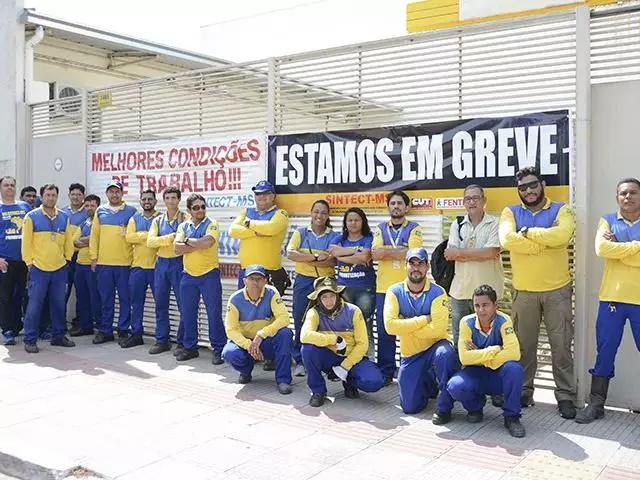 Todo apoio a greve dos trabalhadores dos Correios