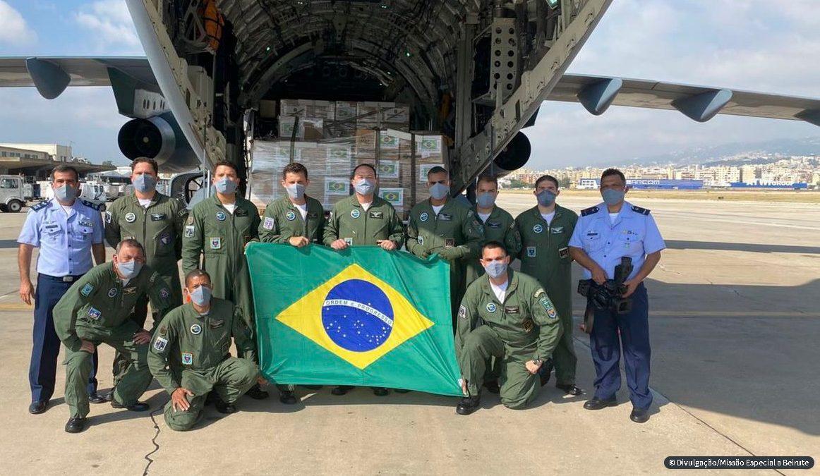 Delegação brasileira que viajou ao Líbano retorna ao país