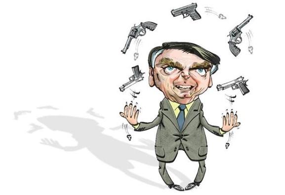"""Em defesa do aumento das cotas de munição, Planalto alega se tratar de """"promessa eleitoral"""""""