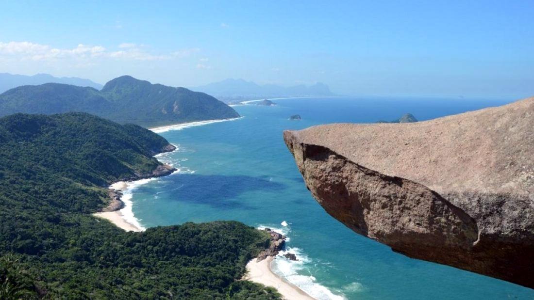 RJ: Pedra do Telégrafo, no Parque da Pedra Branca, volta a receber turistas após cinco meses fechada