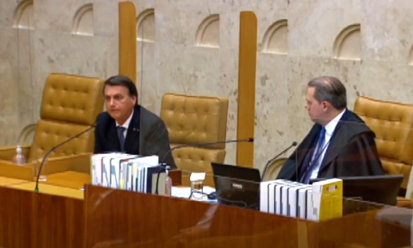 Bolsonaro aparece de surpresa em sessão de despedida de Toffoli no STF e  ouve críticas indiretas de ministros - Tribuna da Imprensa Livre