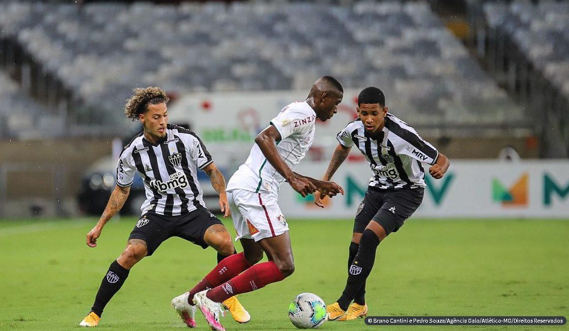 No Mineirão, Atlético-MG empata com Fluminense no Brasileiro