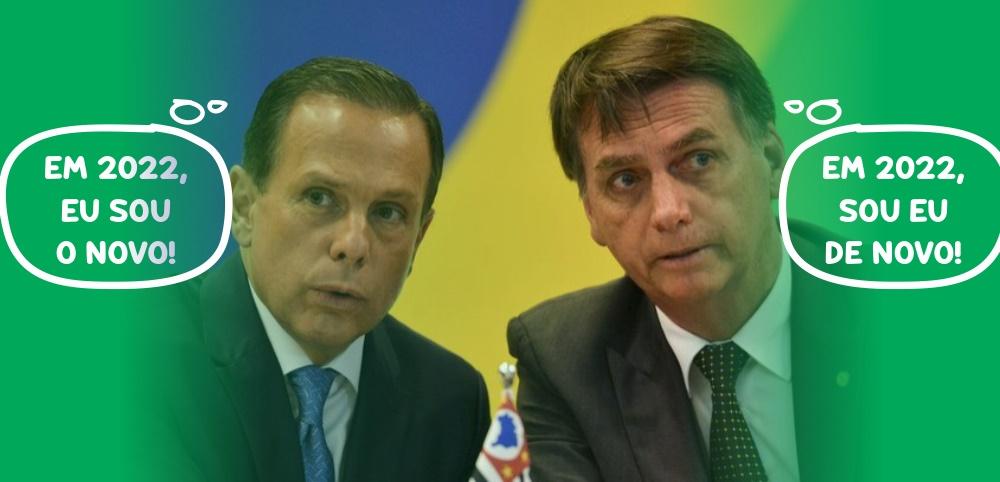 Briga entre Bolsonaro e Dória sobre vacinas é eleitoral e nada tem de científica
