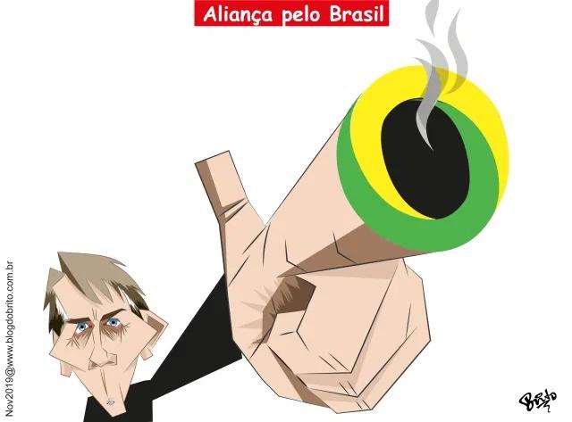 """Bolsonaro diz que """"vai ter uma nova opção""""' se não criar seu partido até março"""