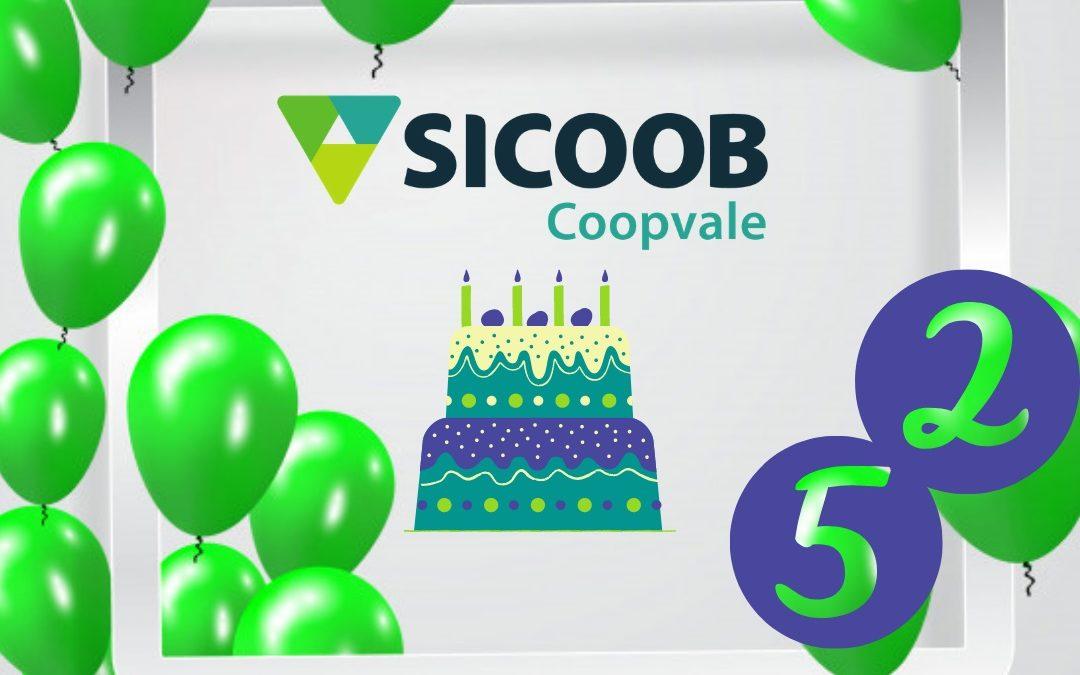 Sicoob Coopvale completa 52 anos de fundação