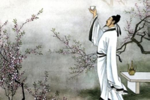 O vinho de Lǐ Bái