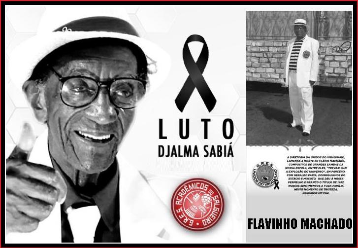 Mundo do samba perde dois célebres poetas