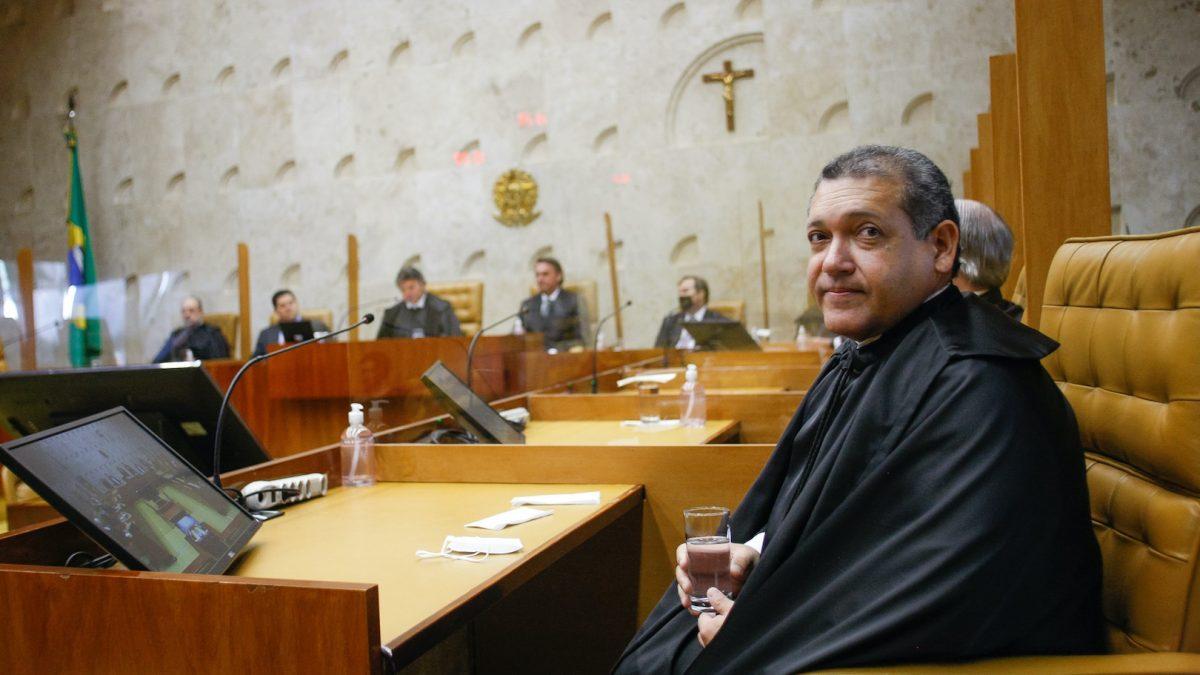 Nunes Marques participa de 1ª sessão de julgamento como ministro do STF