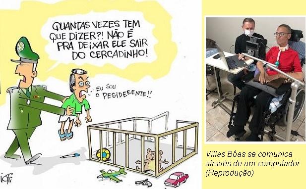 General Villas Bôas vira 'muro das lamentações' de oficiais-generais contra a atuação de Bolsonaro