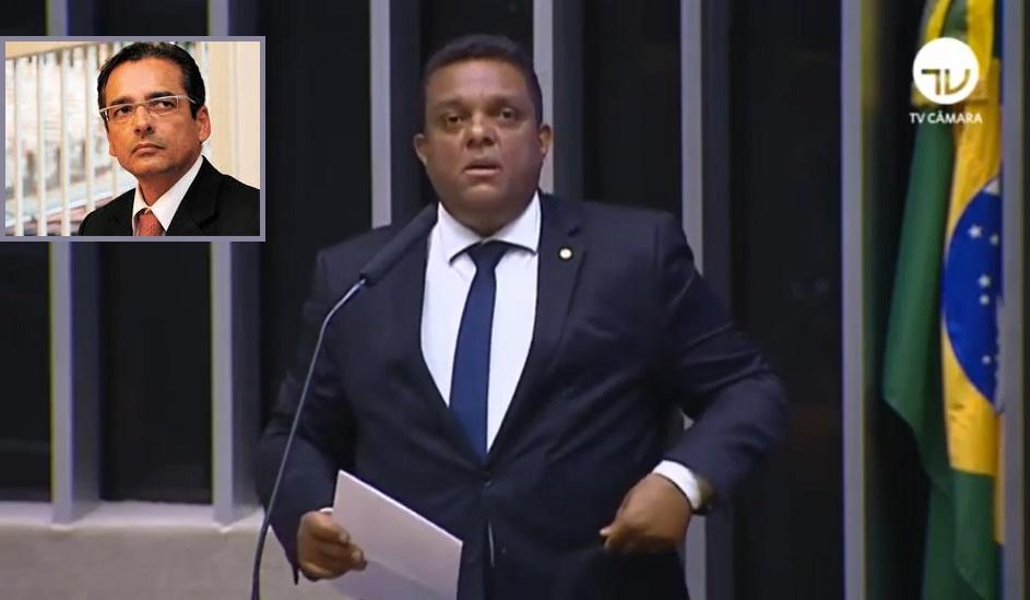 Deputado Otoni de Paula sobe à tribuna para defender a anistia de Protógenes Queiroz