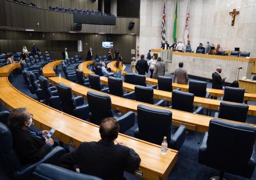 Câmara de SP aprova aumento de salário do prefeito, vice e secretários