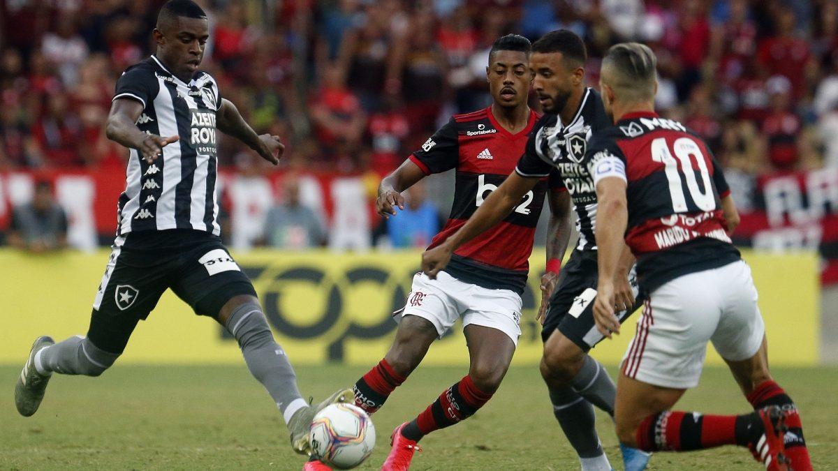 Só resta o Brasileirão para os rivais Flamengo e Botafogo