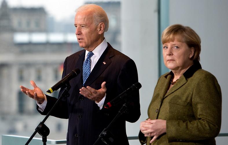 Biden telefona, mas Angela Merkel mantém Alemanha fora da guerra fria contra China