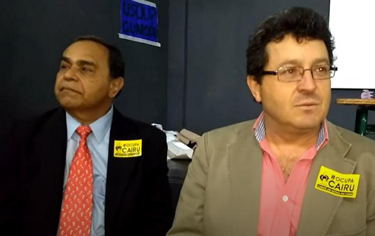 Siro Darlan e João Batista Damasceno