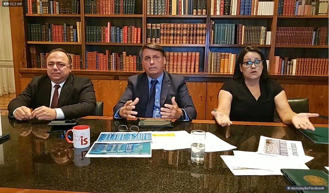 Bolsonaro assina decreto reabrindo crédito para compra de vacinas e diz que busca a conscientização contra a covid-19