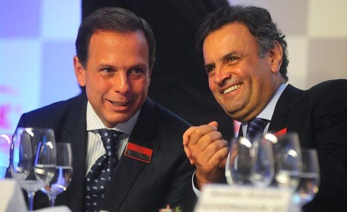 Doria quer presidência do PSDB e saída de Aécio Neves do partido