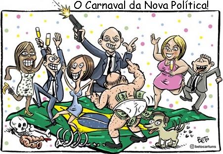 Fevereiro sem Carnaval: O Brasil de cabeça para baixo