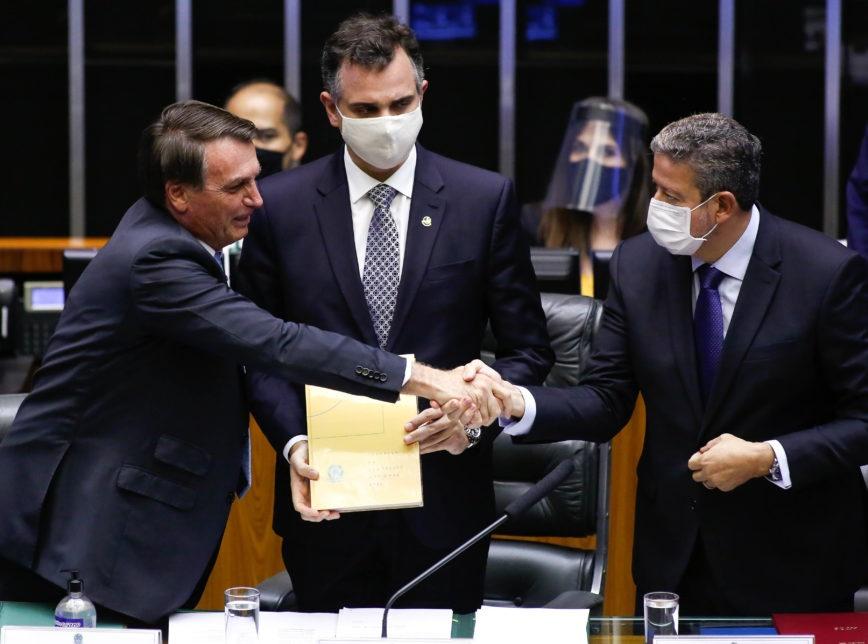 Lira fala em destravar pauta e Pacheco diz que política não pode ser guiada por radicalismos e extremismos