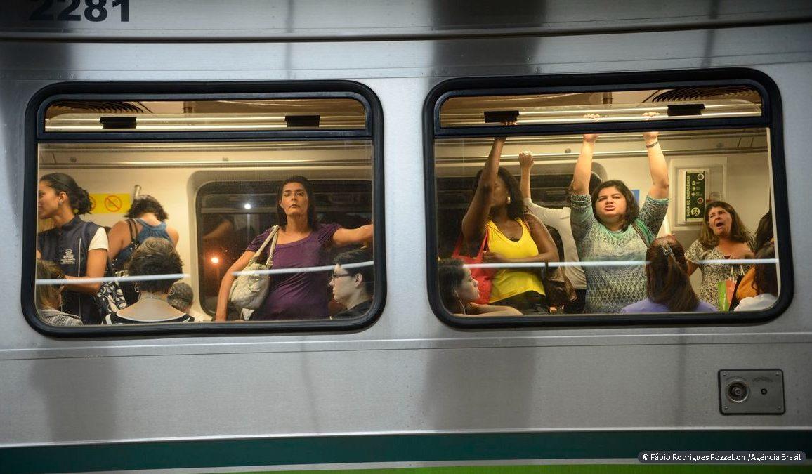 Rio cria programa para enfrentamento ao assédio no transporte público