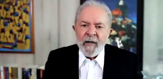 Lula pede que Biden una maiores economias do mundo para discutir vacina