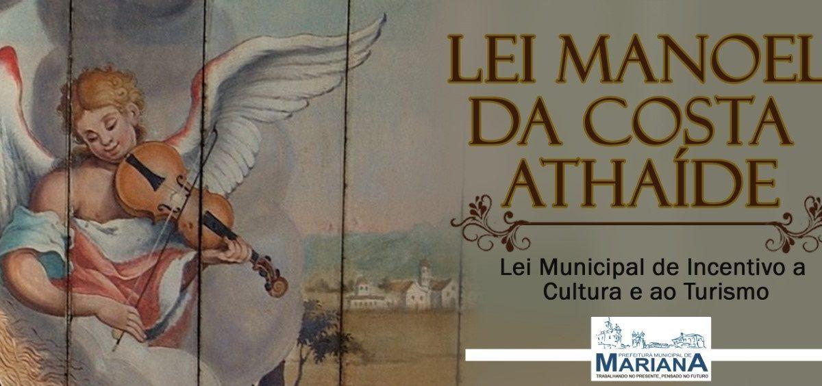 Cidade de Mariana promulga lei de auxilio emergencial a classe artística e seguimento do turismo