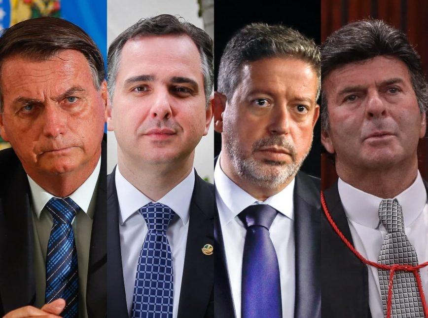 Bolsonaro chama governadores e chefes de Poderes para falar sobre isolamento