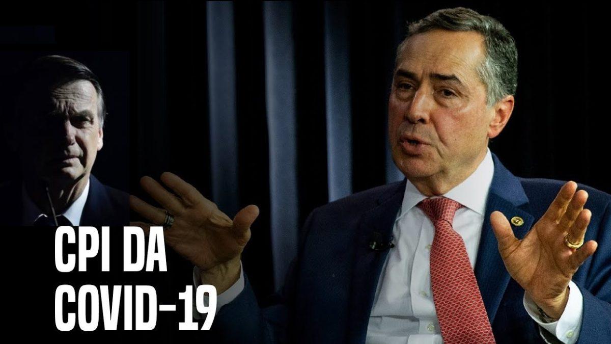 CPI da Covid: AJUFE sai em defesa de Barroso após crítica de Bolsonaro; Vice-líder do governo no Senado prepara ofensiva contra o STF